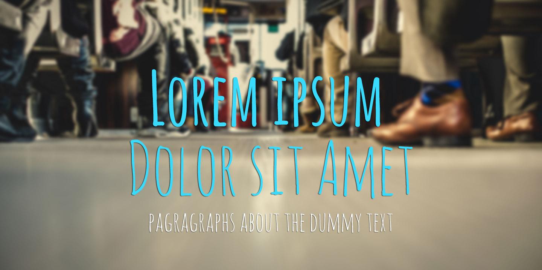Lorem ipsum dolor sit amet – Dummy Text for designers