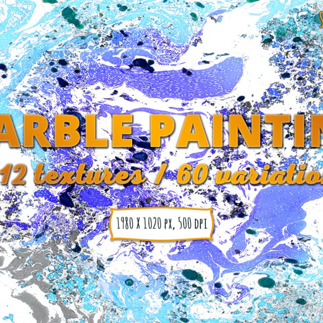 Marble Painting Textures Pack